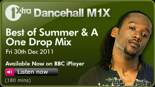 Dancehall M1X - Best of Summer & A  One Drop Mix - 30th Dec'11